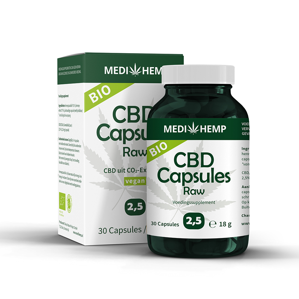 CBD capsules 2,5%